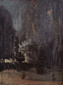 Nocturne in Blue and Gold by James McNeill Whistler