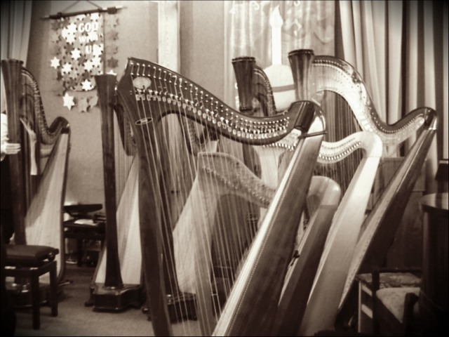 A Choir of Harps at Cottingham January 2011