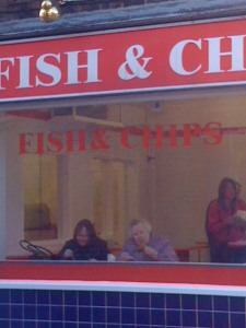 Fish n' chips in Cottingham