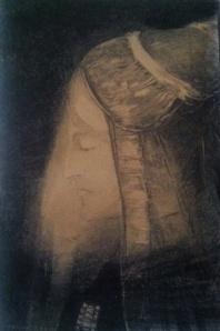 Odilon Redon  'Profil de Lumière'