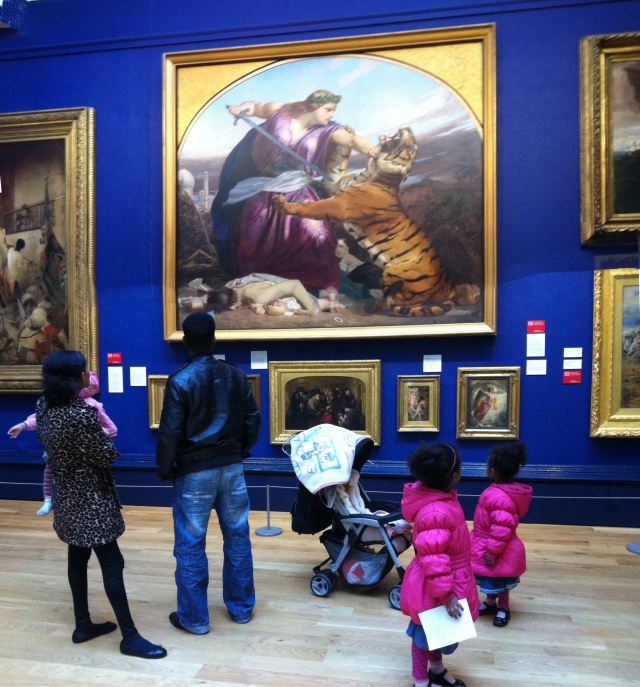 A Family Visit to the Gallery