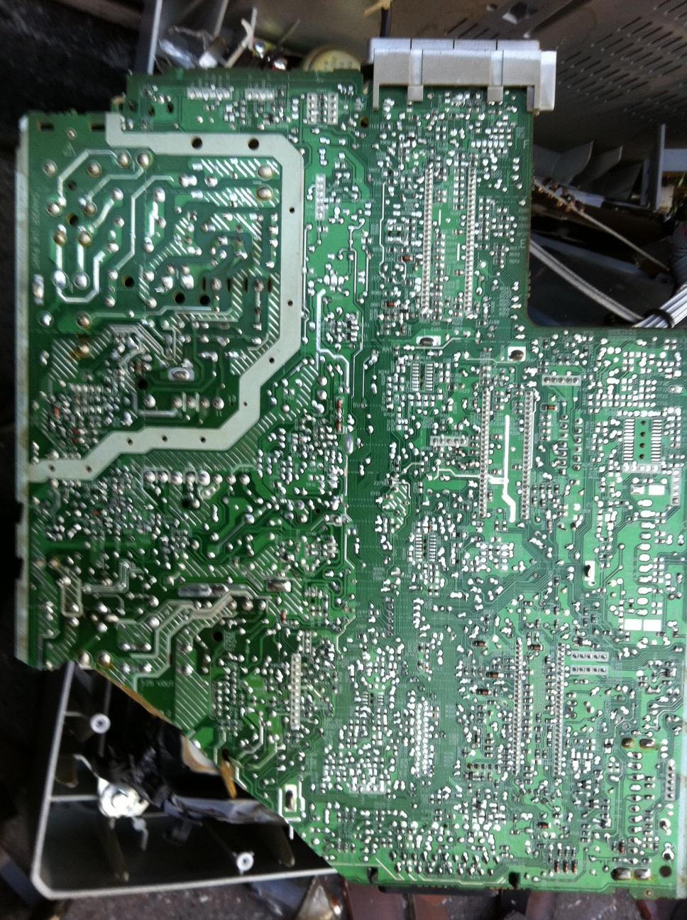 Magical Worlds Life And Art Circuit Boards Like Magic Appears A Few Months Or So Ago I Posted About My Fantastical Discovery Of Little World Contained Within The Circuitry Board Microwave Oven